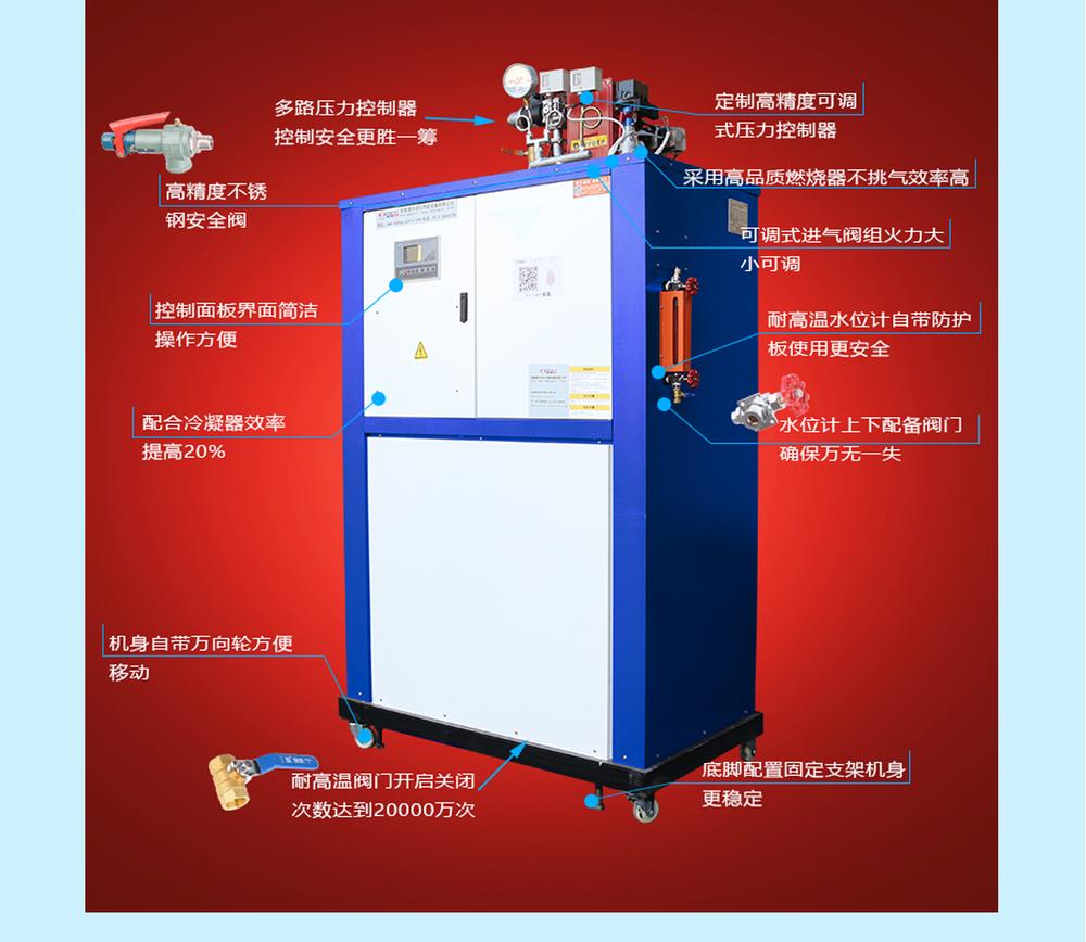 200KG藍色燃油燃氣蒸汽發生器2.jpg
