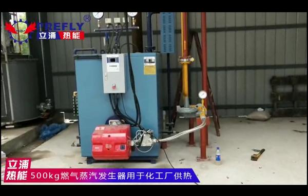 500kg燃气蒸汽发生器 用于化工厂供热.png